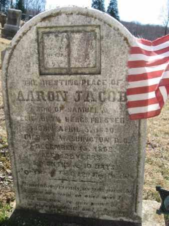 BERGSTRESSER  (CW), AARON JACOB - Northampton County, Pennsylvania   AARON JACOB BERGSTRESSER  (CW) - Pennsylvania Gravestone Photos