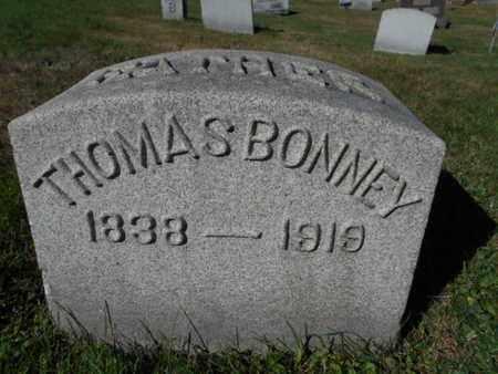 BONNEY, THOMAS - Northampton County, Pennsylvania | THOMAS BONNEY - Pennsylvania Gravestone Photos