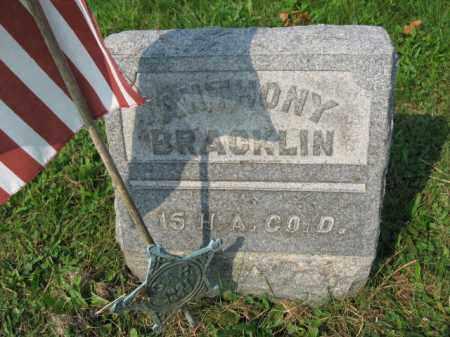 BRACKLIN, ANTHONY - Northampton County, Pennsylvania   ANTHONY BRACKLIN - Pennsylvania Gravestone Photos