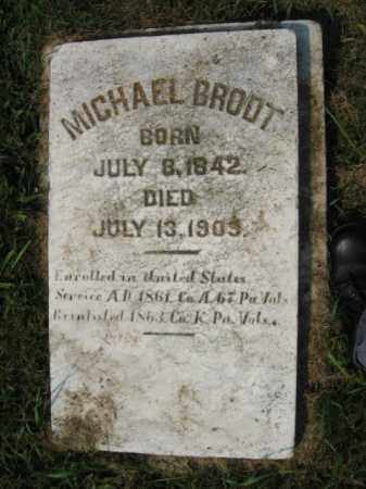 BRODT, MICHAEL - Northampton County, Pennsylvania | MICHAEL BRODT - Pennsylvania Gravestone Photos