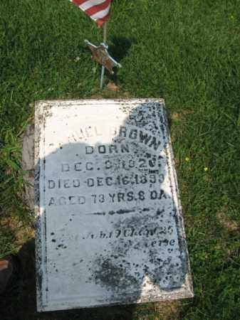 BROWN, DANIEL - Northampton County, Pennsylvania | DANIEL BROWN - Pennsylvania Gravestone Photos