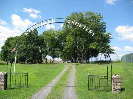 CEMETERY ENTRANCE, EVERGREEN - Northampton County, Pennsylvania | EVERGREEN CEMETERY ENTRANCE - Pennsylvania Gravestone Photos