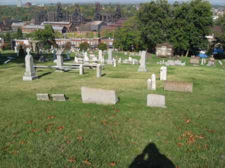 CEMETERY VIEW, SAINT MICHAELS - Northampton County, Pennsylvania | SAINT MICHAELS CEMETERY VIEW - Pennsylvania Gravestone Photos