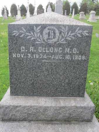 DELONG, M.D., D.D. - Northampton County, Pennsylvania | D.D. DELONG, M.D. - Pennsylvania Gravestone Photos