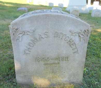 DITCHETT, THOMAS - Northampton County, Pennsylvania | THOMAS DITCHETT - Pennsylvania Gravestone Photos