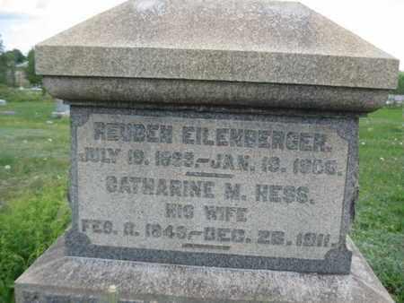 EILENBERGER (CW), REUBEN - Northampton County, Pennsylvania | REUBEN EILENBERGER (CW) - Pennsylvania Gravestone Photos