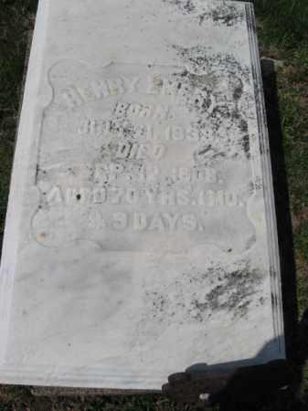 EMERY, HENRY - Northampton County, Pennsylvania | HENRY EMERY - Pennsylvania Gravestone Photos
