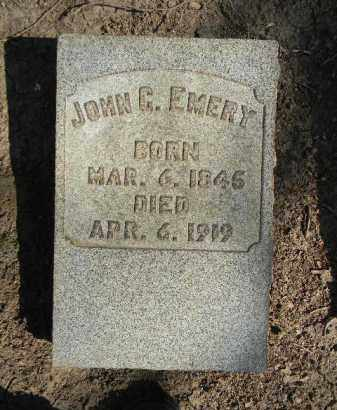 EMERY, JOHN C. - Northampton County, Pennsylvania | JOHN C. EMERY - Pennsylvania Gravestone Photos
