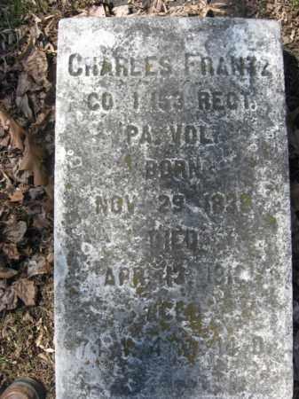 FRANTZ  (CW), PVT.CHARLES - Northampton County, Pennsylvania | PVT.CHARLES FRANTZ  (CW) - Pennsylvania Gravestone Photos