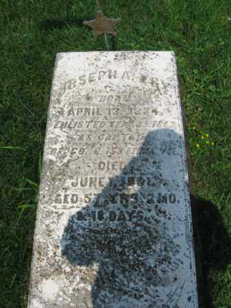 FRY, JOSEPH  A. - Northampton County, Pennsylvania | JOSEPH  A. FRY - Pennsylvania Gravestone Photos