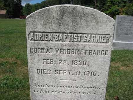 GARNIER, ADRIEN BAPTIST - Northampton County, Pennsylvania | ADRIEN BAPTIST GARNIER - Pennsylvania Gravestone Photos