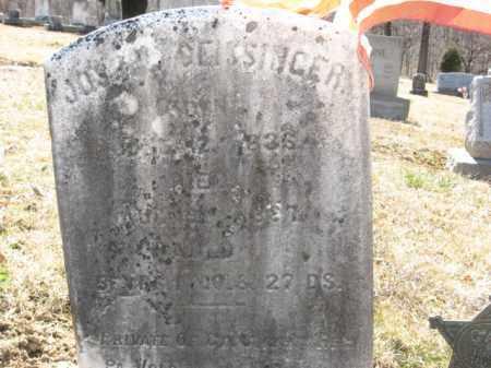GEISSINGER (CW), PVT.JOSEPH - Northampton County, Pennsylvania | PVT.JOSEPH GEISSINGER (CW) - Pennsylvania Gravestone Photos
