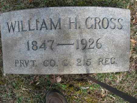 GROSS  (CW), WILLIAM H. - Northampton County, Pennsylvania   WILLIAM H. GROSS  (CW) - Pennsylvania Gravestone Photos