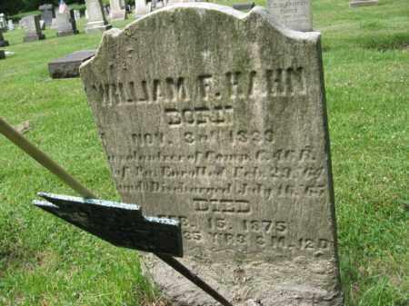 HAHN (CW), WILLIAM F. - Northampton County, Pennsylvania | WILLIAM F. HAHN (CW) - Pennsylvania Gravestone Photos