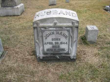 HAHN, JOHN - Northampton County, Pennsylvania | JOHN HAHN - Pennsylvania Gravestone Photos