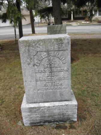 HAHN, LEWIS A. - Northampton County, Pennsylvania | LEWIS A. HAHN - Pennsylvania Gravestone Photos