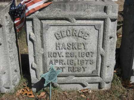 HASKEY, GEORGE - Northampton County, Pennsylvania | GEORGE HASKEY - Pennsylvania Gravestone Photos