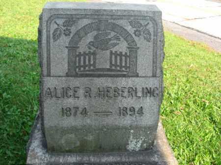 HEBERLING, ALICE R. - Northampton County, Pennsylvania | ALICE R. HEBERLING - Pennsylvania Gravestone Photos