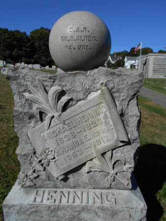 HENNING (CW), MICHAEL - Northampton County, Pennsylvania   MICHAEL HENNING (CW) - Pennsylvania Gravestone Photos
