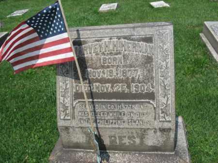 HERMAN, HARVEY  H. - Northampton County, Pennsylvania   HARVEY  H. HERMAN - Pennsylvania Gravestone Photos