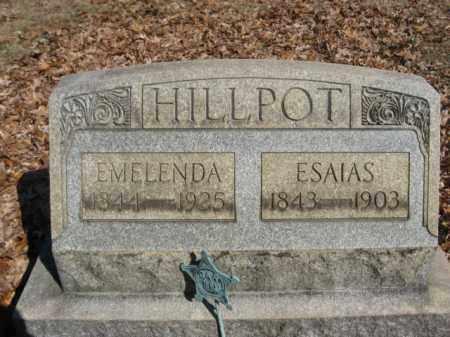 HILLPOT   (CW), PVT.ESAIAS  (ISAIAH) - Northampton County, Pennsylvania | PVT.ESAIAS  (ISAIAH) HILLPOT   (CW) - Pennsylvania Gravestone Photos