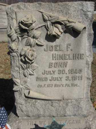 HINELINE  (CW), PVT.JOEL F. - Northampton County, Pennsylvania | PVT.JOEL F. HINELINE  (CW) - Pennsylvania Gravestone Photos