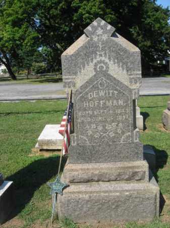 HOFFMAN (CW), DEWITT - Northampton County, Pennsylvania | DEWITT HOFFMAN (CW) - Pennsylvania Gravestone Photos