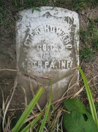 HOWARD  (CW), PETER - Northampton County, Pennsylvania | PETER HOWARD  (CW) - Pennsylvania Gravestone Photos