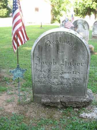 HUBER, JACOB - Northampton County, Pennsylvania | JACOB HUBER - Pennsylvania Gravestone Photos