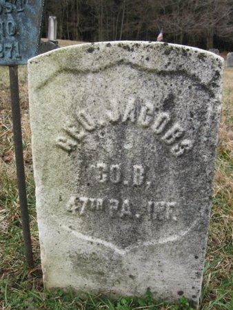 JACOBS (CW), GEORGE - Northampton County, Pennsylvania | GEORGE JACOBS (CW) - Pennsylvania Gravestone Photos