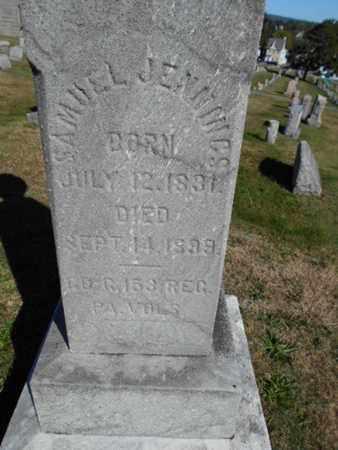 JENNINGS (CW), SAMUEL - Northampton County, Pennsylvania   SAMUEL JENNINGS (CW) - Pennsylvania Gravestone Photos