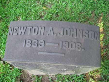 JOHNSON, NEWTON A. - Northampton County, Pennsylvania | NEWTON A. JOHNSON - Pennsylvania Gravestone Photos