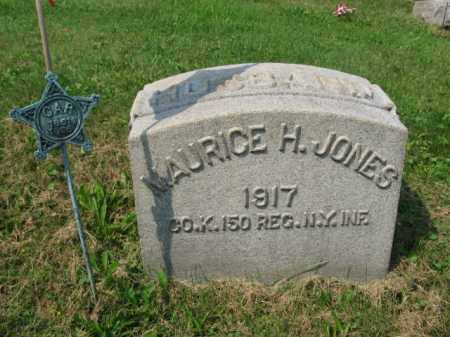 JONES (CW), MAURICE H. - Northampton County, Pennsylvania | MAURICE H. JONES (CW) - Pennsylvania Gravestone Photos