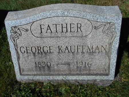 KAUFFMAN, GEORGE - Northampton County, Pennsylvania | GEORGE KAUFFMAN - Pennsylvania Gravestone Photos