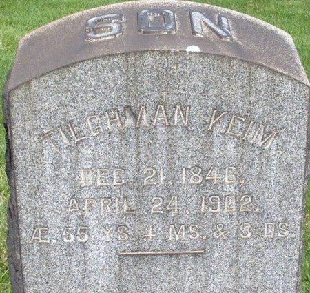 KEIM (CW), TILGHMAN - Northampton County, Pennsylvania | TILGHMAN KEIM (CW) - Pennsylvania Gravestone Photos