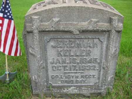 KELLER (CW), JEREMIAH - Northampton County, Pennsylvania | JEREMIAH KELLER (CW) - Pennsylvania Gravestone Photos
