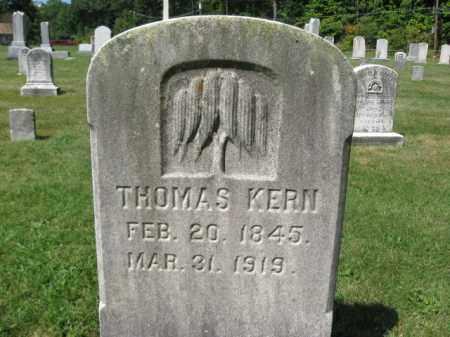 KERN, THOMAS - Northampton County, Pennsylvania | THOMAS KERN - Pennsylvania Gravestone Photos