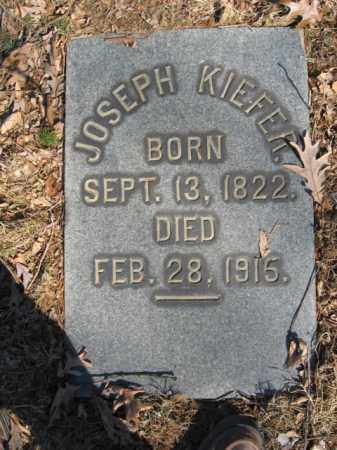 KIEFER, JOSEPH - Northampton County, Pennsylvania | JOSEPH KIEFER - Pennsylvania Gravestone Photos
