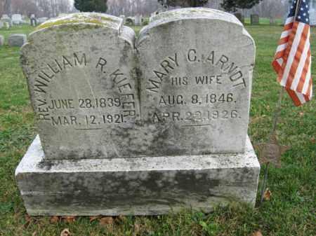 KIEFER (CW), WILLIAM R. - Northampton County, Pennsylvania | WILLIAM R. KIEFER (CW) - Pennsylvania Gravestone Photos