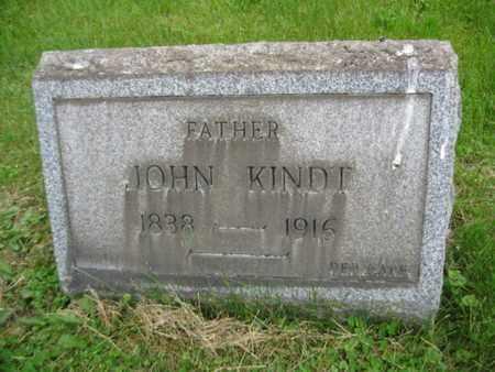 KINDT, JOHN - Northampton County, Pennsylvania | JOHN KINDT - Pennsylvania Gravestone Photos