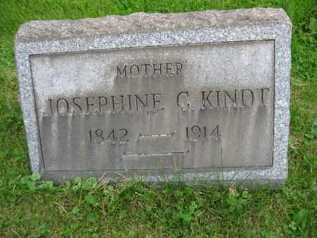 KINDT, JOSEPHINE C. - Northampton County, Pennsylvania | JOSEPHINE C. KINDT - Pennsylvania Gravestone Photos