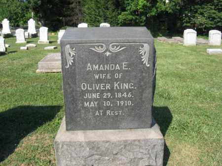 KING, AMANDA  E - Northampton County, Pennsylvania | AMANDA  E KING - Pennsylvania Gravestone Photos