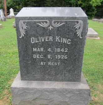 KING, OLIVER - Northampton County, Pennsylvania   OLIVER KING - Pennsylvania Gravestone Photos