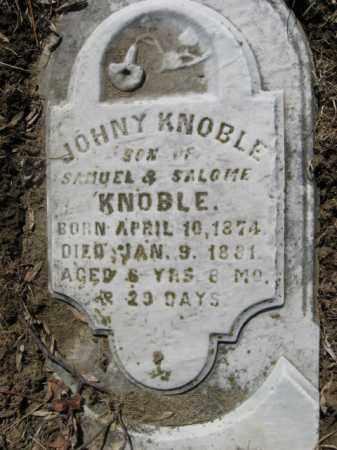 KNOBLE, JOHNY - Northampton County, Pennsylvania | JOHNY KNOBLE - Pennsylvania Gravestone Photos