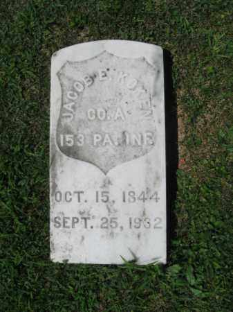 KOKEN, JACOB E. - Northampton County, Pennsylvania   JACOB E. KOKEN - Pennsylvania Gravestone Photos
