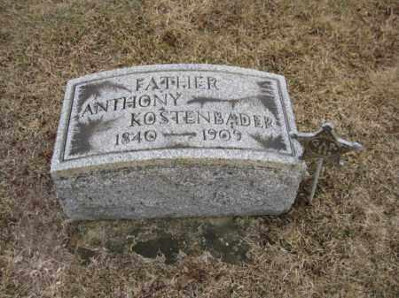 KOSTENBADER (CW), ANTHONY - Northampton County, Pennsylvania | ANTHONY KOSTENBADER (CW) - Pennsylvania Gravestone Photos
