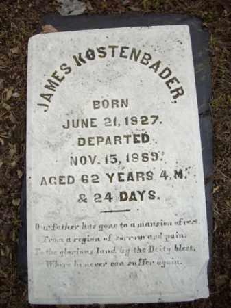 KOSTENBADER, JAMES - Northampton County, Pennsylvania   JAMES KOSTENBADER - Pennsylvania Gravestone Photos
