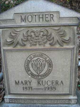 KUCERA, MARY - Northampton County, Pennsylvania | MARY KUCERA - Pennsylvania Gravestone Photos
