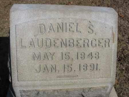 LAUDENBERGER, DANIEL S. - Northampton County, Pennsylvania | DANIEL S. LAUDENBERGER - Pennsylvania Gravestone Photos