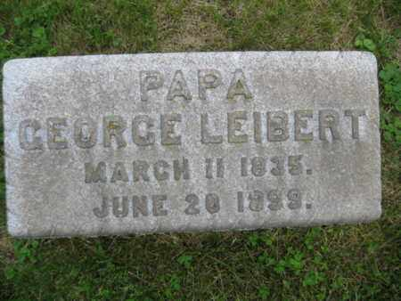 LEIBERT, GEORGE - Northampton County, Pennsylvania | GEORGE LEIBERT - Pennsylvania Gravestone Photos